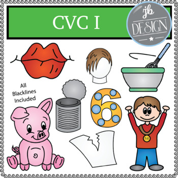 CVC I Pack (JB Design Clip Art for Personal or Commercial Use)