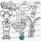 CVC -IP Word Family Clip Art