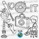 CVC -IT Word Family Clip Art