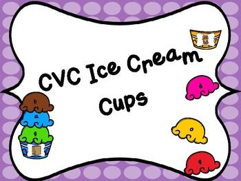 CVC Ice Cream Cup Center