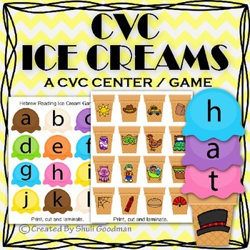 CVC Ice Cream Game