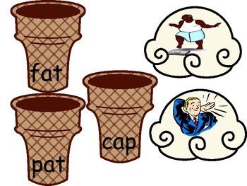 CVC Ice-cream and cones matchup