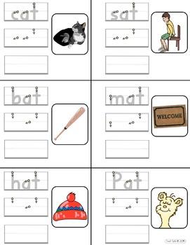 CVC Handwriting Practice FREEBIE: Short 'a' and Preprimer Sentence Building