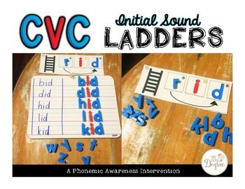 CVC Initial Sound Ladders