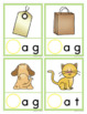 CVC Words: Beginning Sound Clip Cards for CVC word families