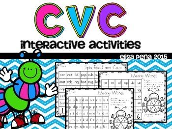 CVC Interactive Activities