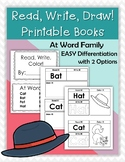 CVC Printable Book -At Word Family