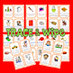 "PHONICS Interactive Segmenting Flashcards (CVC Short ""A"") ""Mystery Words"""