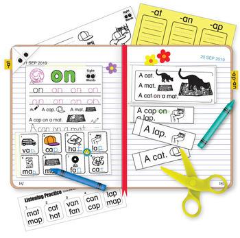 CVC Interactive Notebook Templates