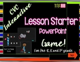 CVC Interactive PowerPoint Lesson for Emergent Readers