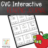 CVC Interactive Reading Journal Activities