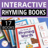 Rhyming Activities | Beginning Sound Activities | Interactive Word Family Books