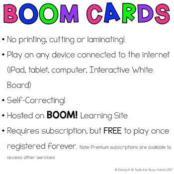 CVC Interactive Digital Task Card Bundle (Boom! Decks)