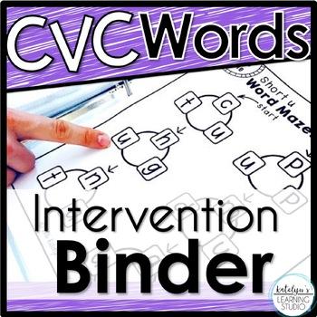 CVC Words Intervention