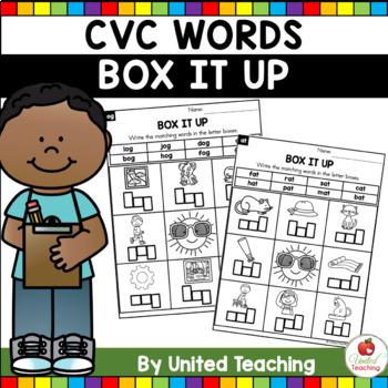 CVC: Label the CVC Words Bundle