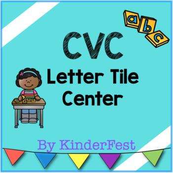 CVC Letter Tile Center
