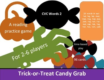 CVC List #2 Candy Grab Game