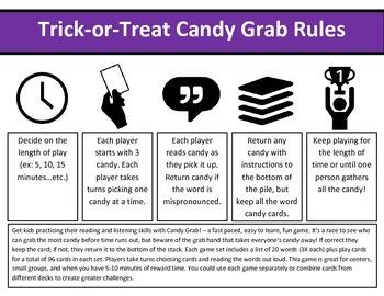 CVC List #5 Candy Grab Game