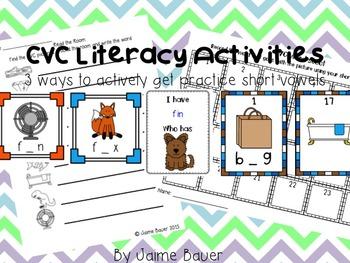 CVC Literacy Files