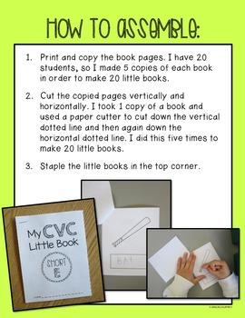 CVC Little Books
