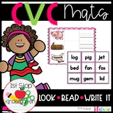 CVC Look, Read, Write-It Mats