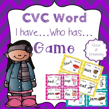 CVC Loop Game - I have...Who has