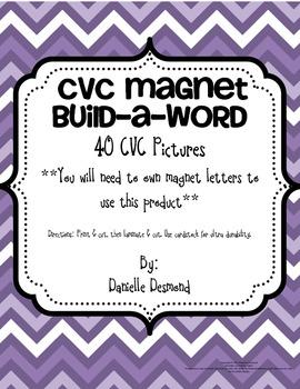 CVC Magnet Build a Word