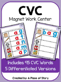 CVC Magnetic Letter Mats (Center)