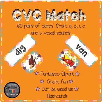 CVC Match Cards