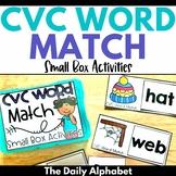 CVC Match: Small Box Activities