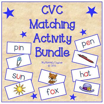 #crazybundledeals CVC Matching Activity Bundle