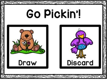 CVC Matching Game - Go Pickin' Spring
