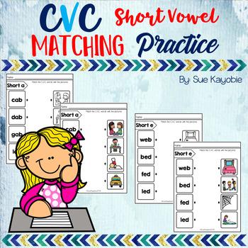 CVC Matching Practice