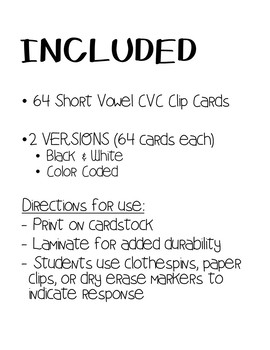 CVC Matching Task Cards- REAL PHOTOGRAPHS