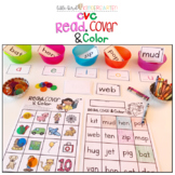 CVC Read, Cover & Color Learning Center