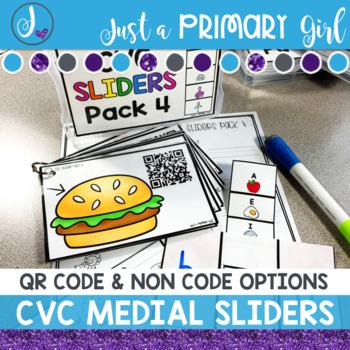 CVC Medial Sound QR Codes 4