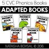 CVC Medial Sounds (Adapted Phonics Books)