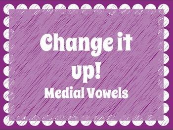 CVC: Medial Vowel Change