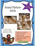 Sound Picture Sorts (phonemic awareness)
