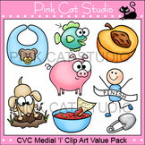 Clip Art CVC Medial 'i' Clip Art Value Pack - Personal or Commercial Use