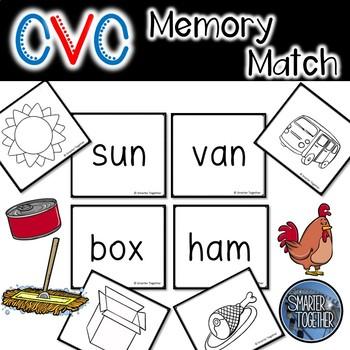CVC Memory Match Game