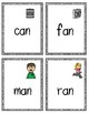 CVC Memory (-at and -an word families)