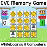 CVC Game: Short Vowel Sounds Memory Game - 10 Fun Themes including Spring