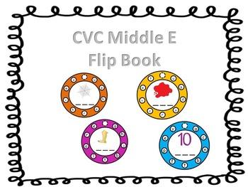 CVC Middle E Flip Book