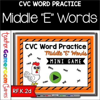CVC Middle E Practice Mini Game
