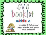 CVC - Middle E booklet