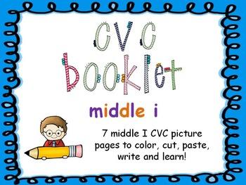 CVC - Middle I Booklet