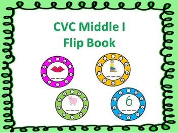 CVC Middle I Flip Book