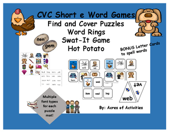 CVC Middle e Games and Word Rings
