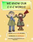CVC Mini Book Fun